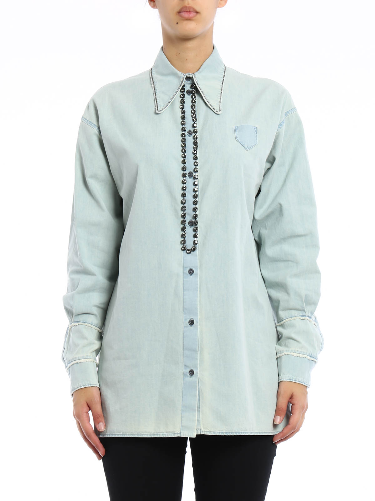 DENIM - Denim shirts N°21 Best Prices Cheap Price Sale Latest Sneakernews Online With Credit Card Discount Outlet Store tJ3eIyZ