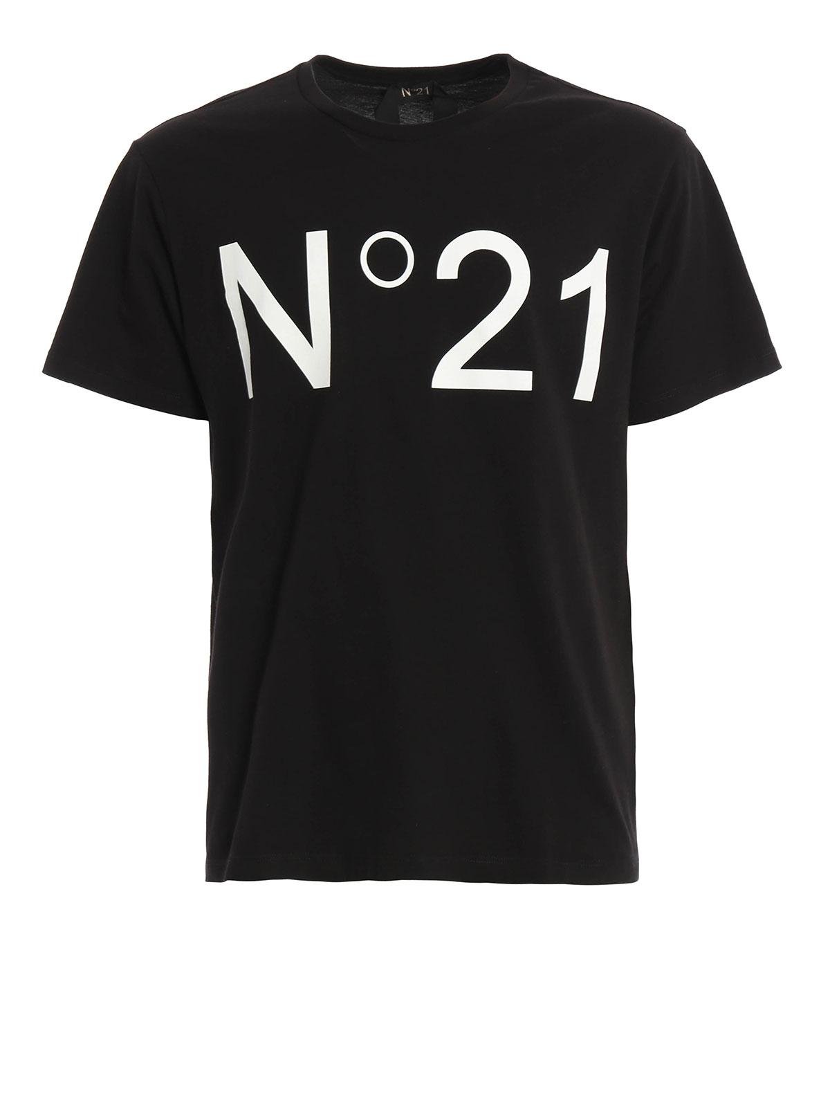 Logo print t shirt by n 21 t shirts ikrix for Printing logos on t shirts