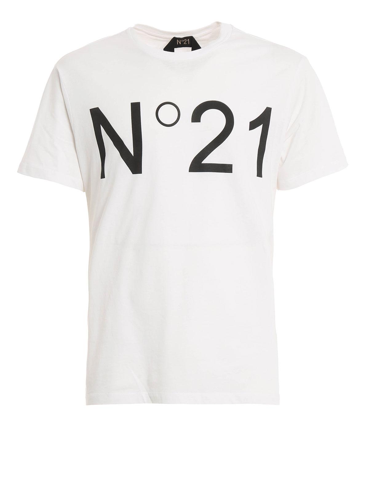 Logo print t shirt by n 21 t shirts ikrix for Logo for t shirt printing