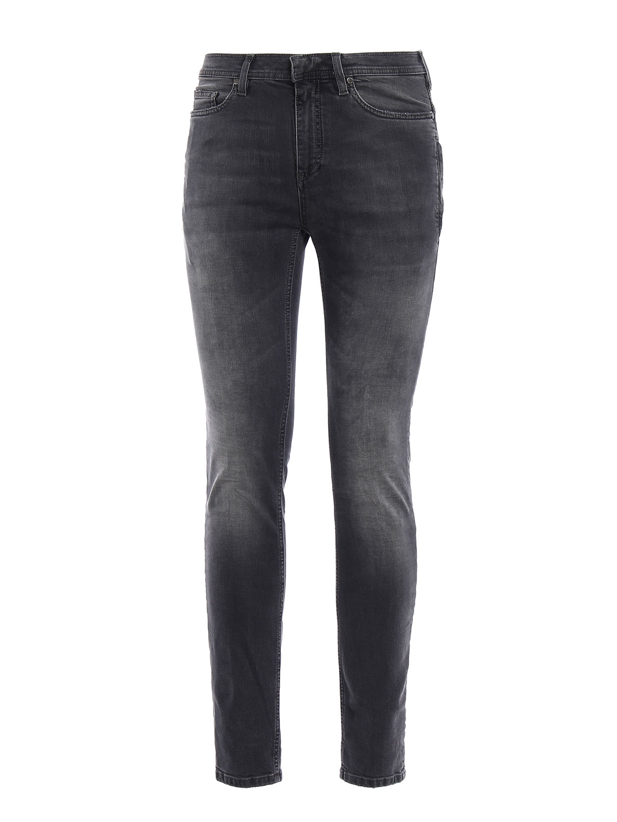 super skinny leg dyed denim jeans by neil barrett skinny. Black Bedroom Furniture Sets. Home Design Ideas