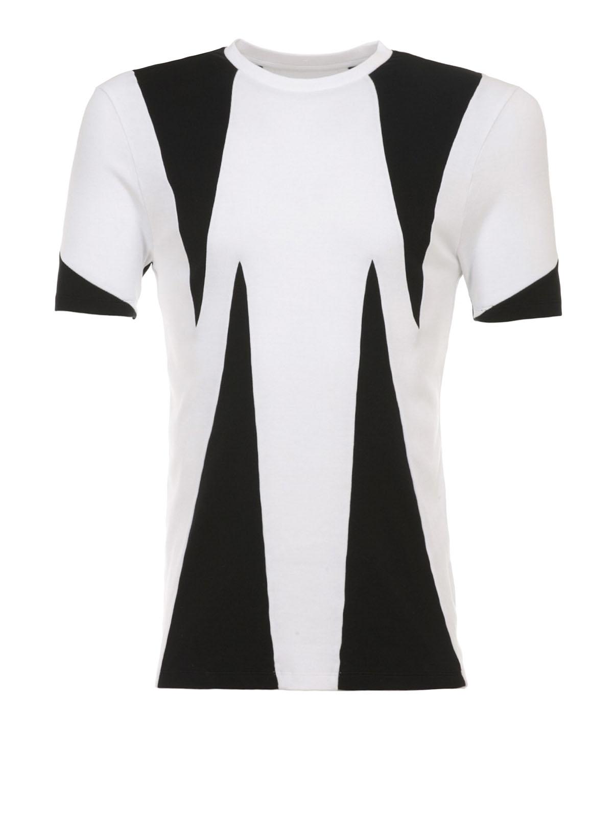 Neil Barrett - Colour block jersey T-shirt - t-shirts