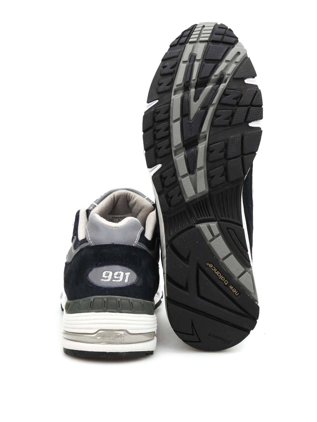 New Balance Sneaker 991 Dunkelblau Sneaker M991NV