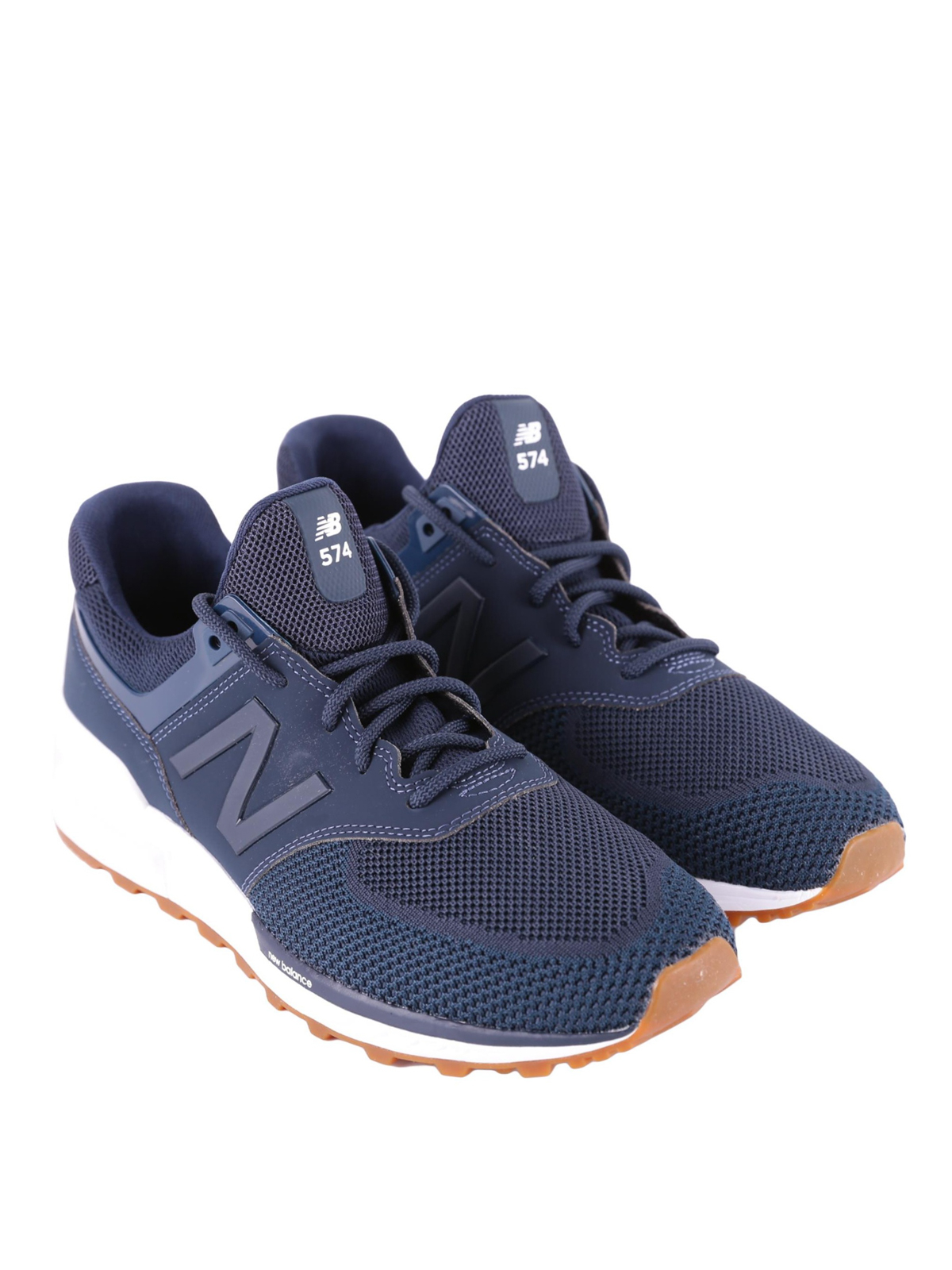 huge discount 6fe95 63ac7 New Balance - 574 Sport blue sneakers - trainers - MS574EMB ...