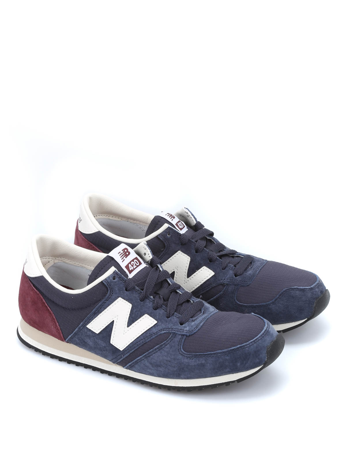 420 pigskin sneakers by new balance trainers ikrix. Black Bedroom Furniture Sets. Home Design Ideas