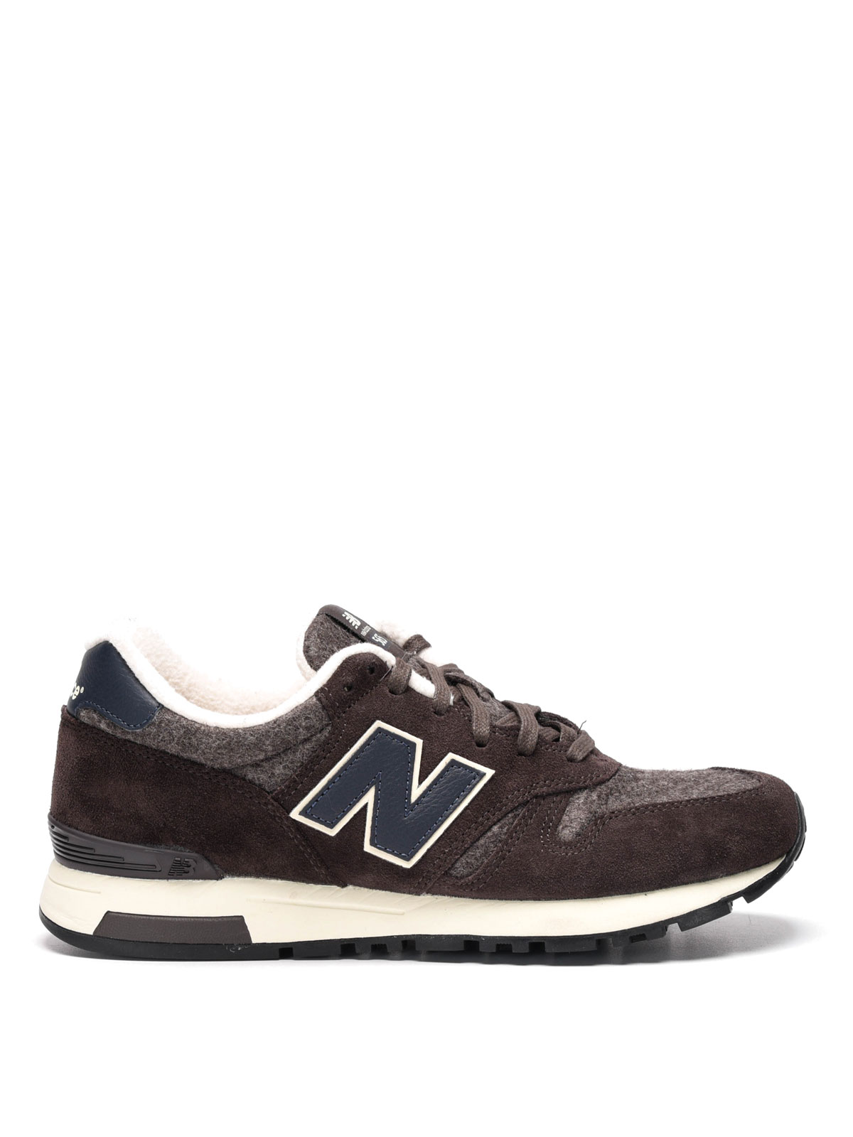 565 suede and cloth sneakers by new balance trainers ikrix. Black Bedroom Furniture Sets. Home Design Ideas