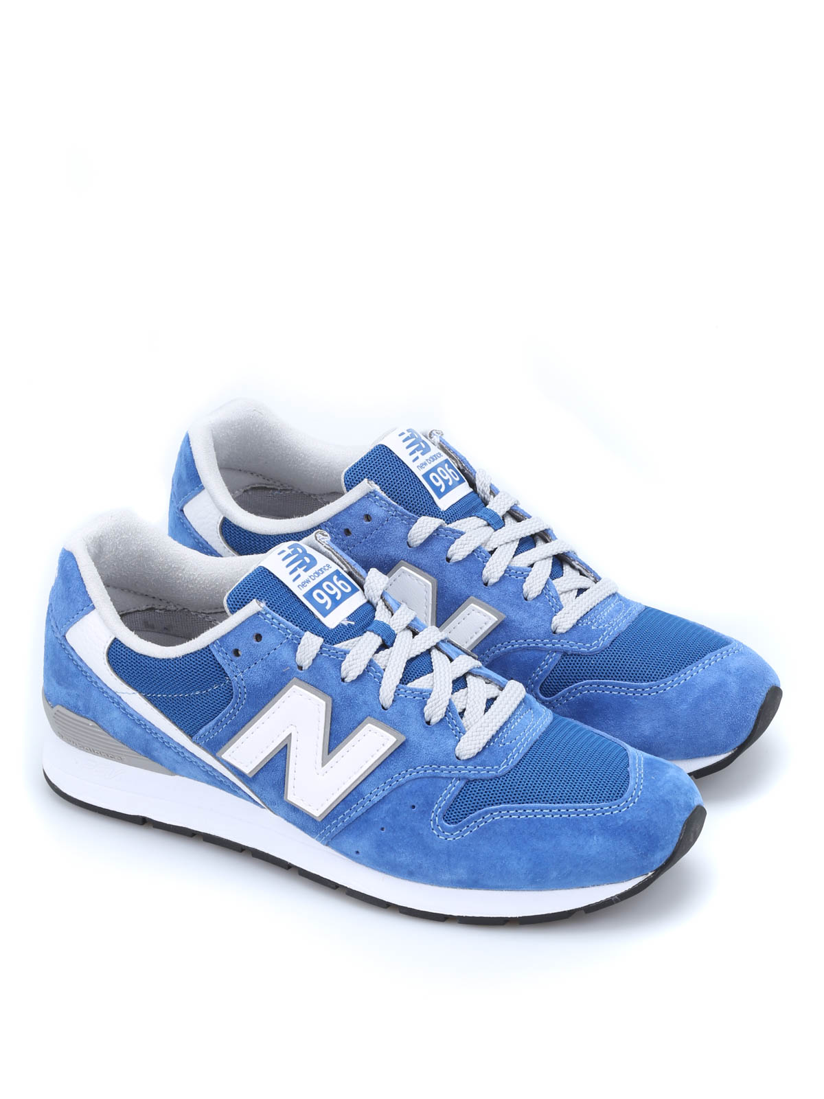 New Balance - Suede and mesh 996 sneakers - trainers - MRL996KC