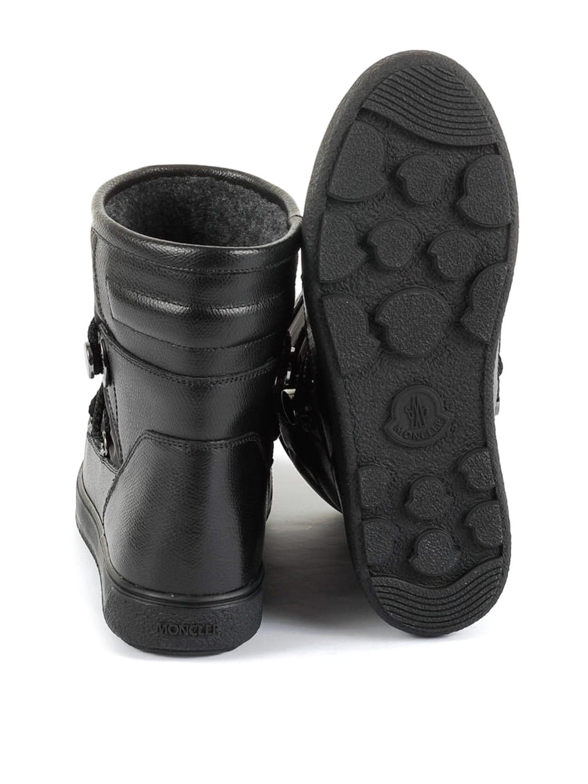 classic styles most popular exclusive deals Moncler - New Fanny black après-ski boots - snow boots ...