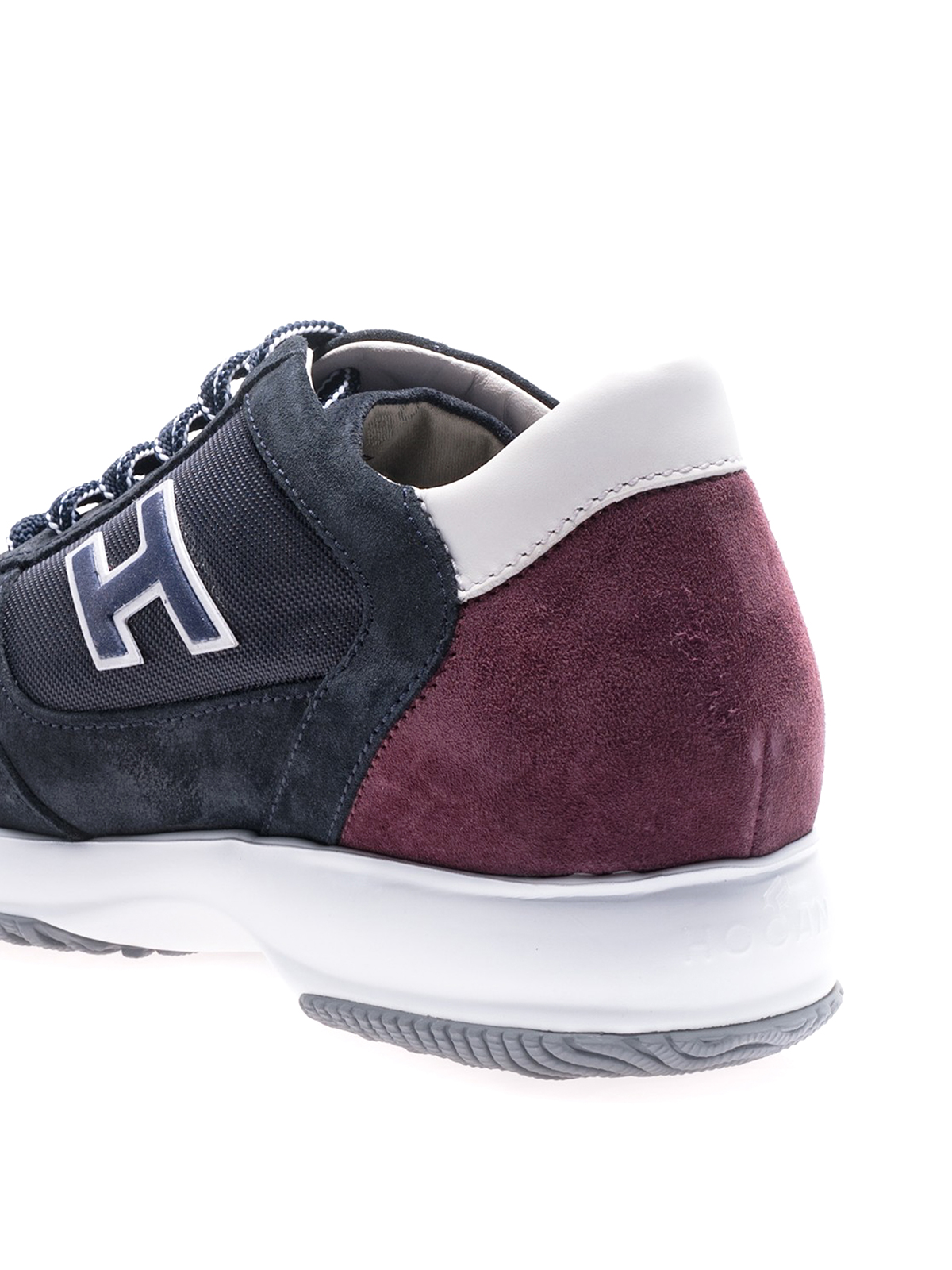 Trainers Hogan - New Interactive blue red sneakers ...