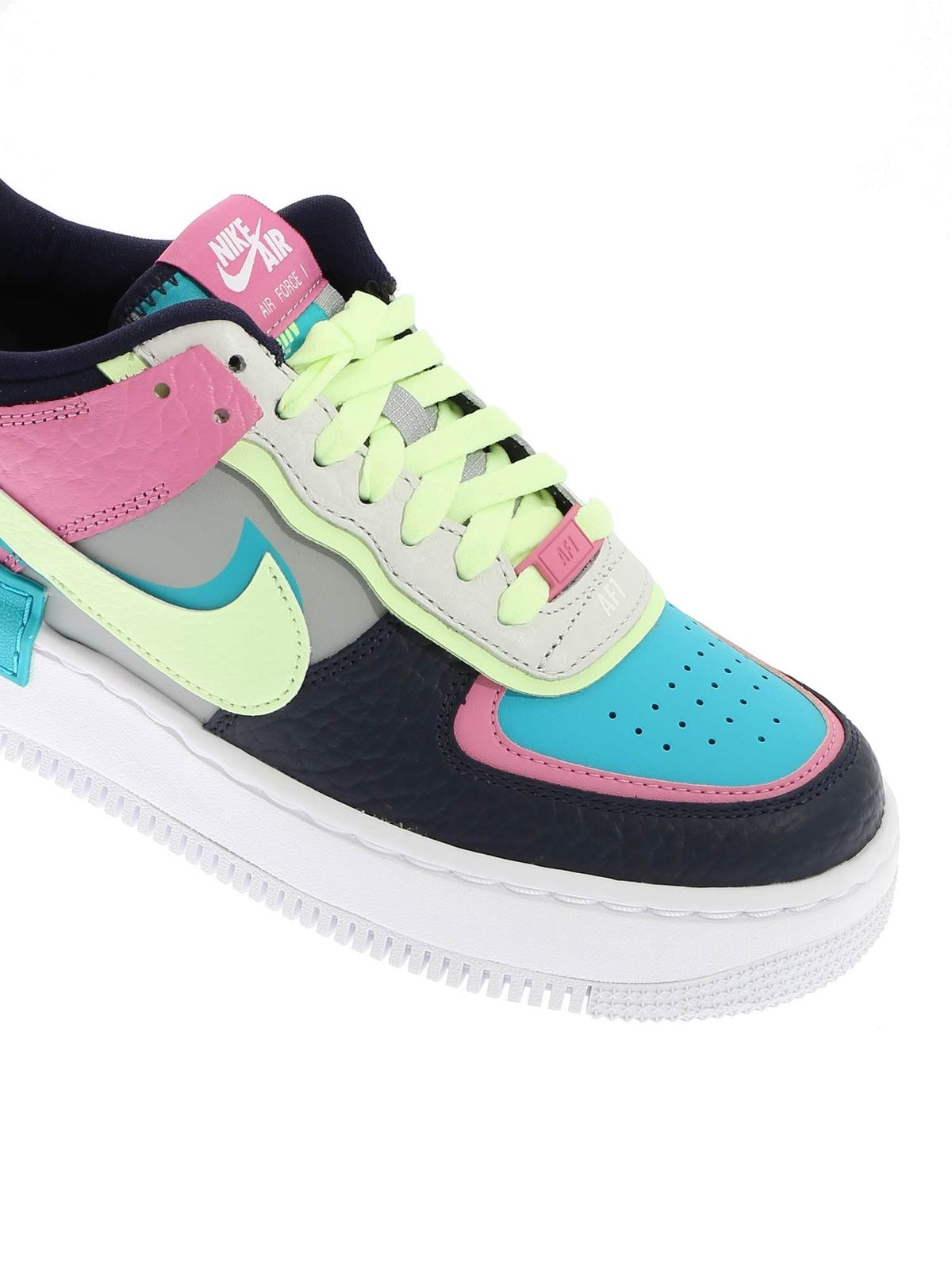 Nike Air Force 1 Shadow Se Sneakers In Multicolor Trainers Ck3172001 The nike air force 1 shadow delivers versatility in its stylishly distinctive design that allows you to rock this pair on various occasions with a wide variety of outfit among these renditions of the air force 1 is the nike air force 1 shadow which was introduced in 2019. nike