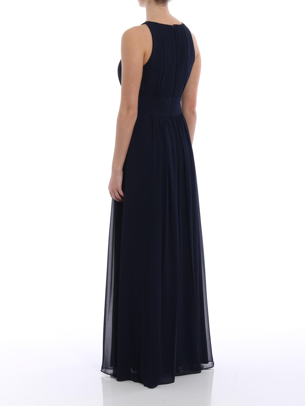 Lauren Ralph Lauren - Niketta georgette long gown - evening dresses ...