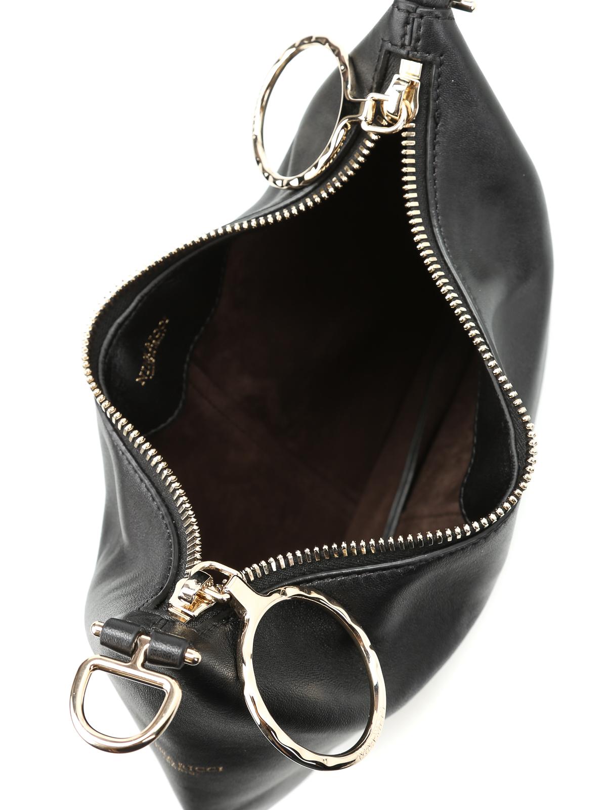 80acbf908c Nina Ricci - Kuti wrist strap leather small bag - clutches ...