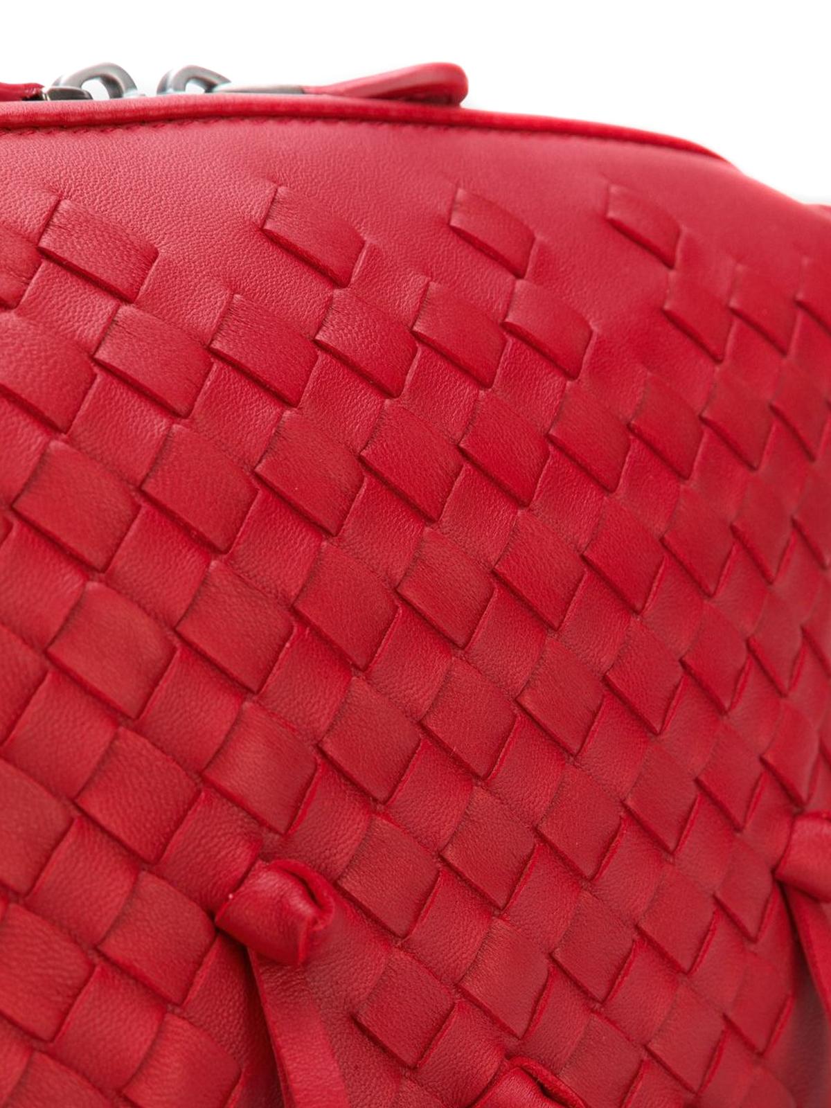 f6bc98bdf5 ... Nodini China Red Intrecciato Nodini bag shop online  BOTTEGA VENETA ...