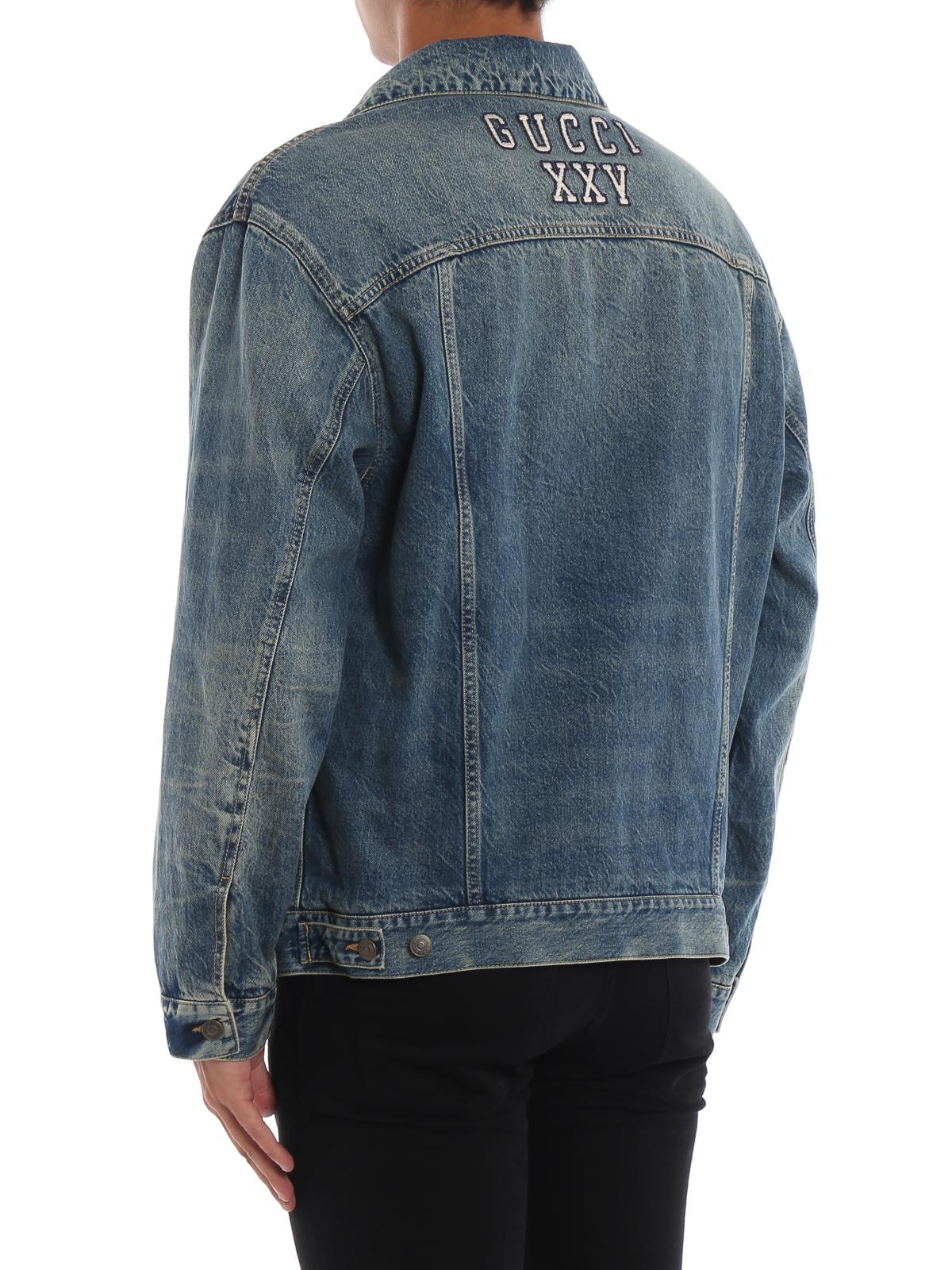 ff84d288e48 Gucci - NY Yankees™ patch denim jacket - denim jacket - 475024XRC854494