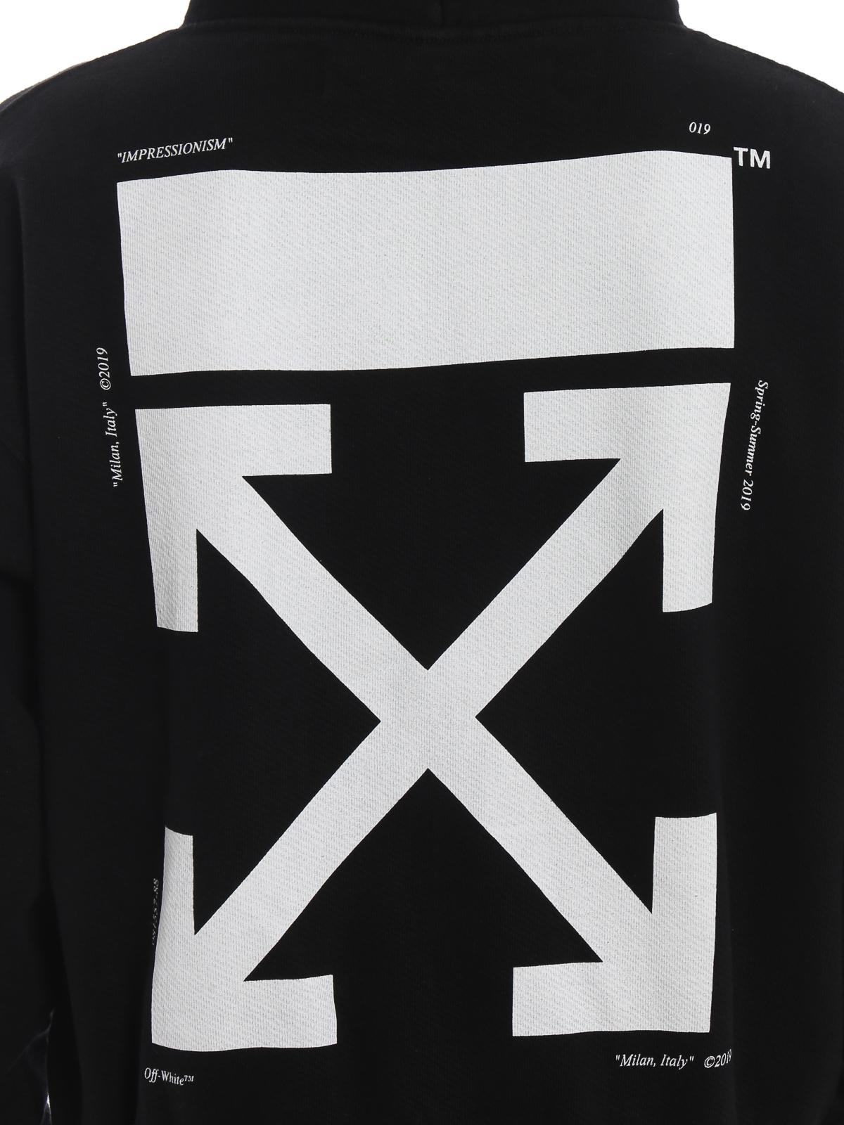 sale absolut stilvoll bester Großhändler Off-White - Sweatshirt - Schwarz - Sweatshirts und Pullover ...