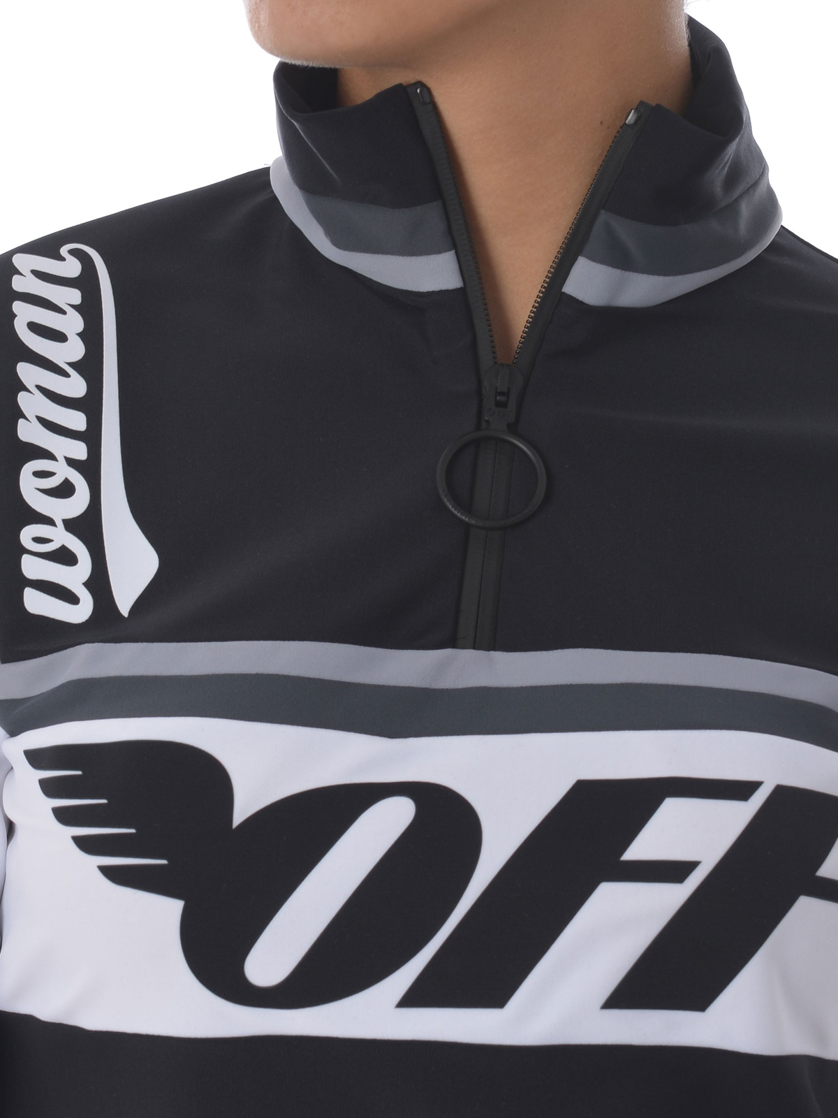 Off-White - Printed cycling T-shirt - t-shirts - OWAD046S189291541010 04a0aff0f