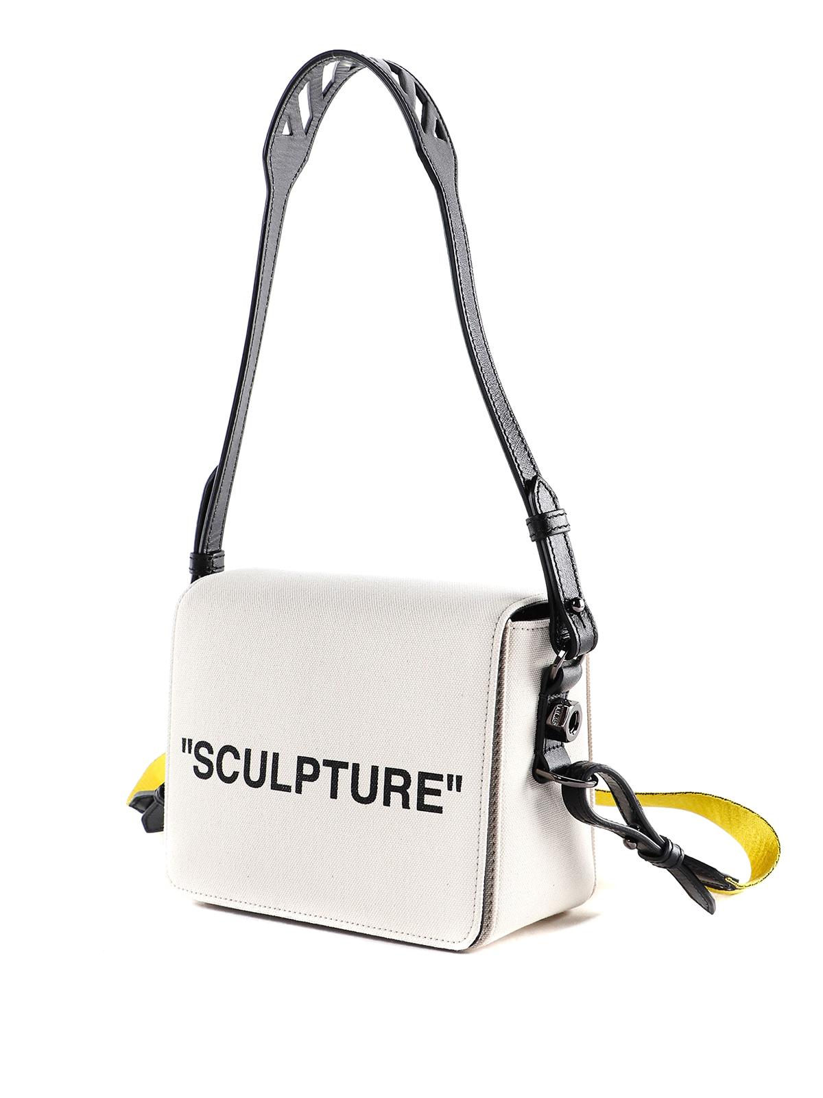 design senza tempo 0dad5 2055c Off-White - Tracolla Sculpture in canvas - borse a spalla ...