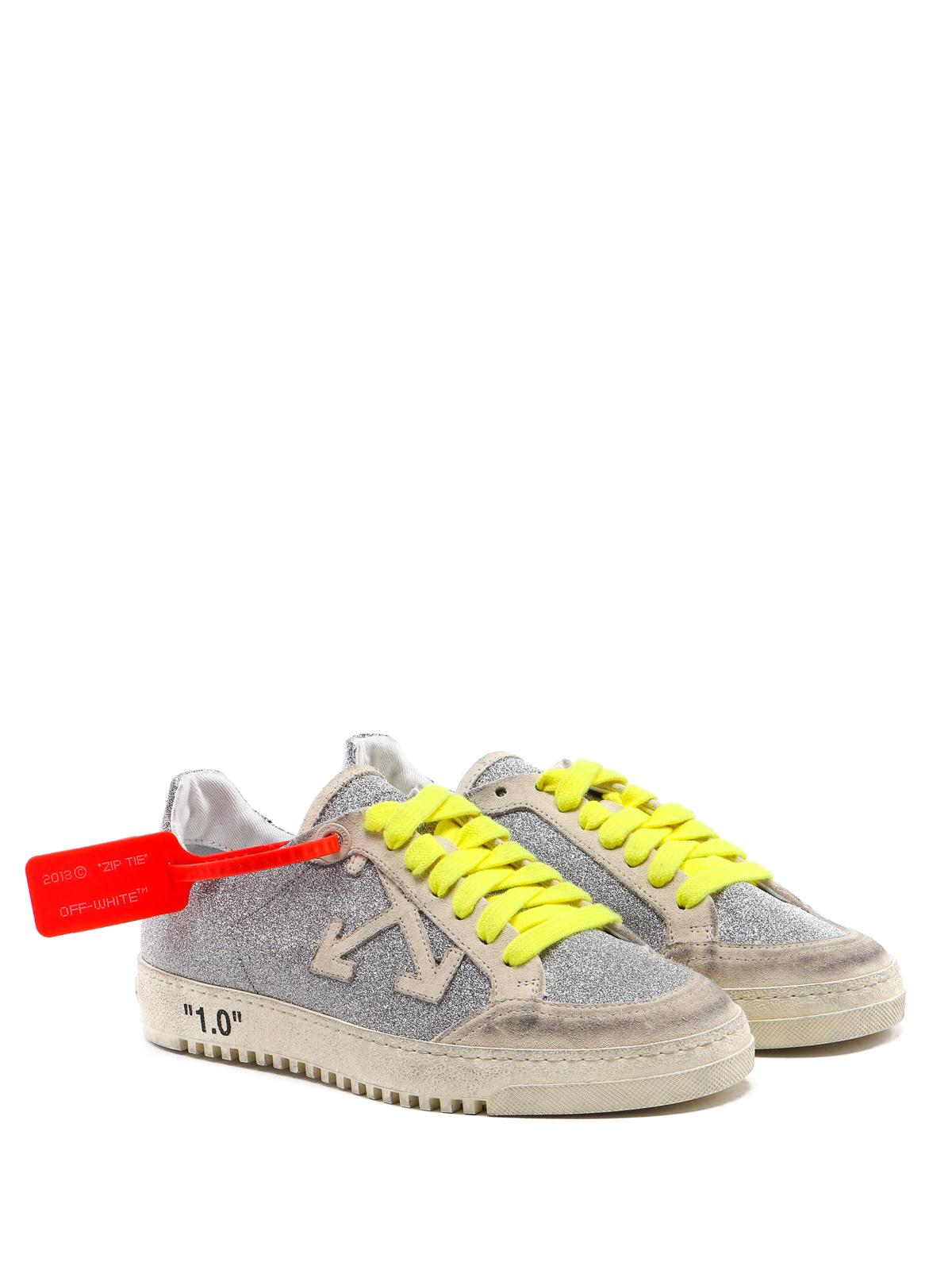 Off-White - 2.0 glitter low sneaker