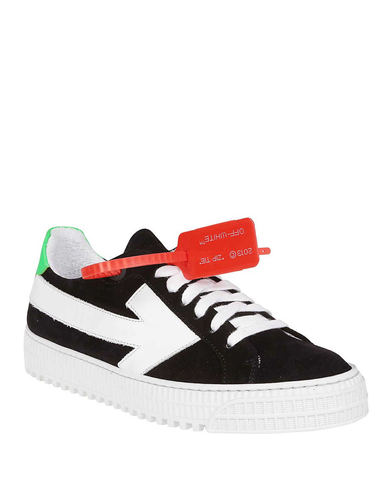 Off-White - Arrow black sneakers