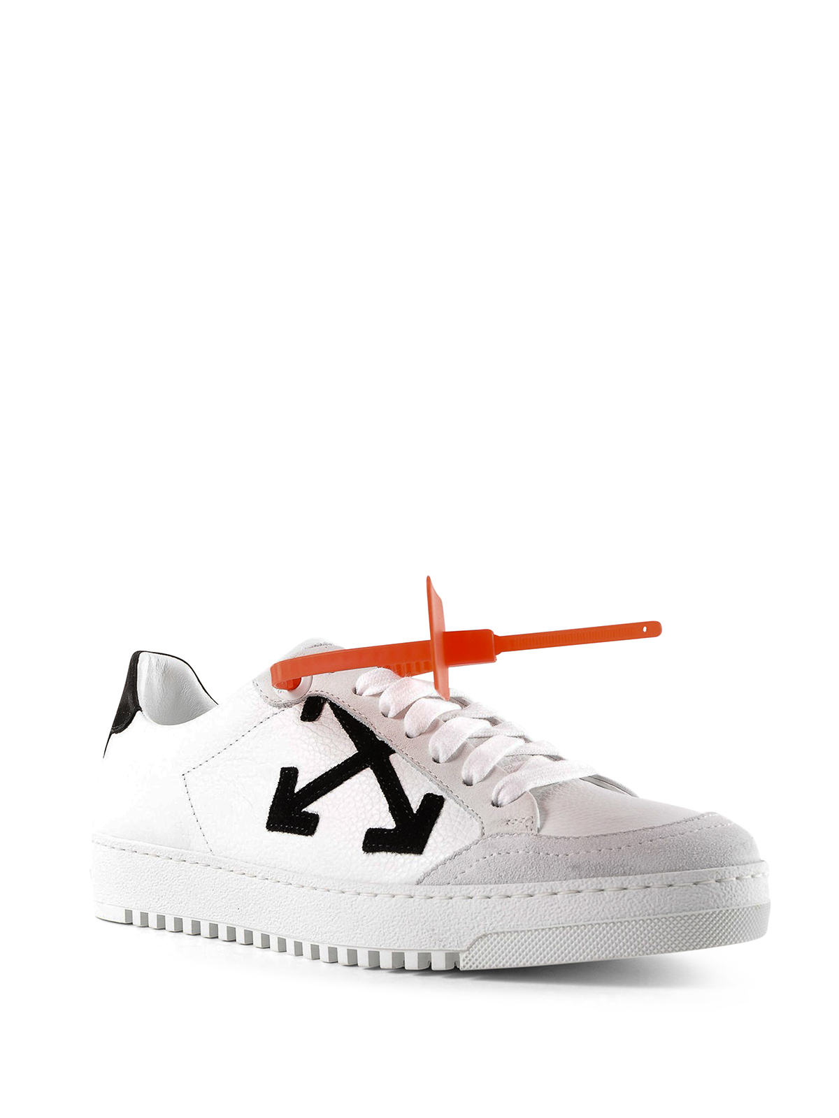 White Arrows leather sneakers