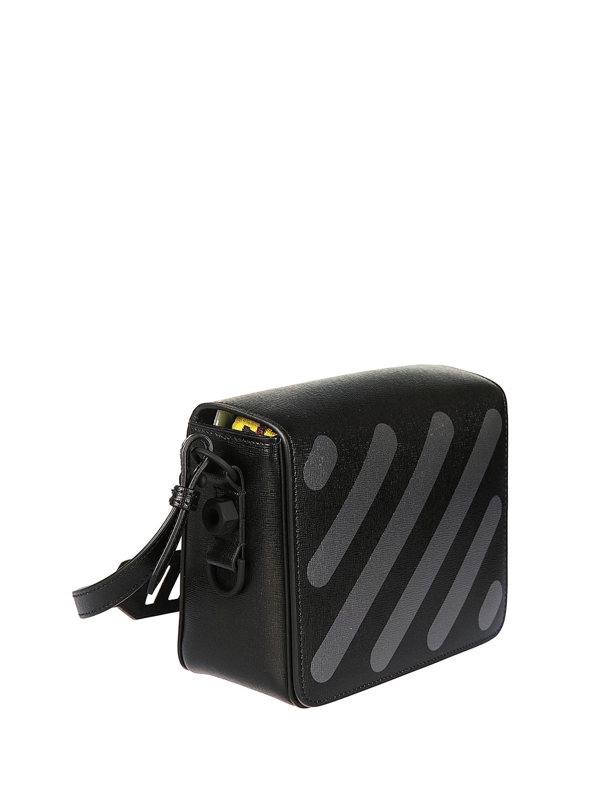 Off-white Virgil Abloh dark grey diag bag DMoy4lZ2Do