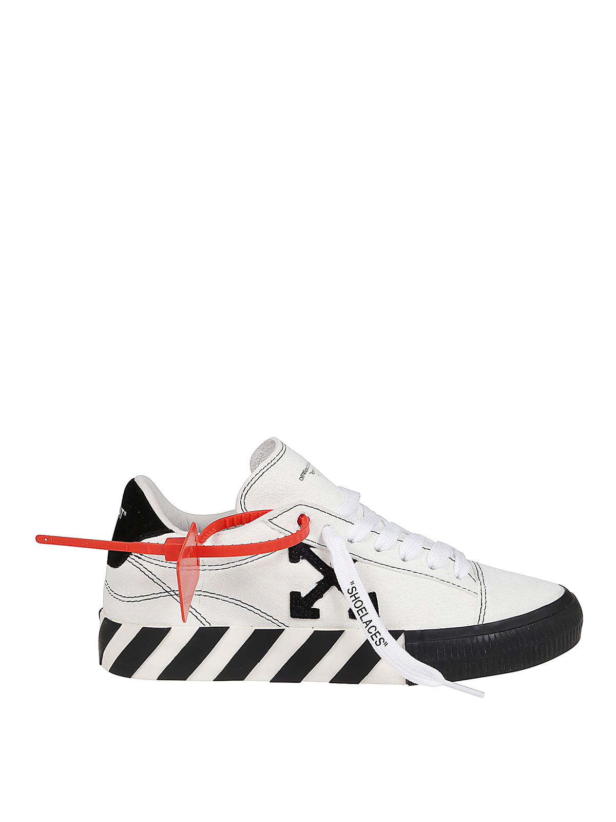 Off-White Suedes NEW ARROW LOW VULCANIZED SNEAKERS