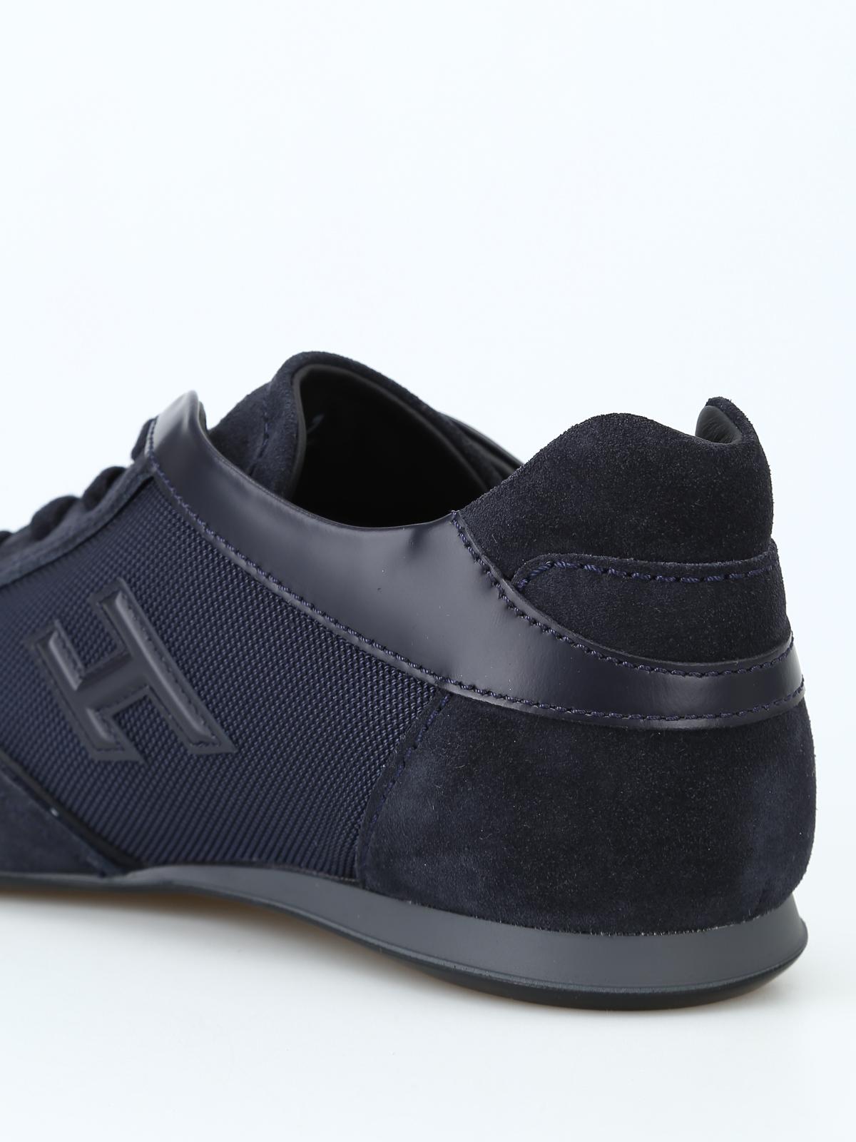 Sneakers Hogan - Sneaker basse Olympia blu - HXM0570I972JC89E7D