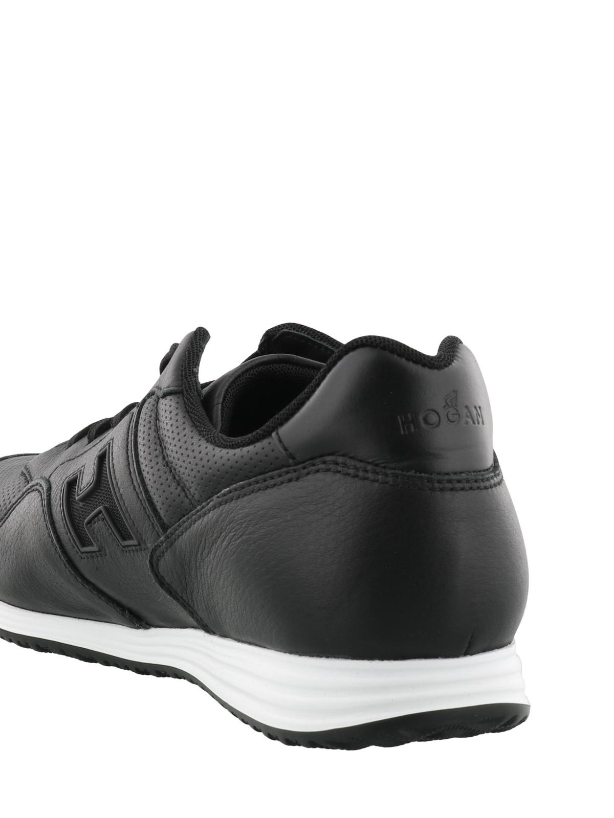 Hogan - Olympia X-H205 black sneakers - trainers - HXM2050X593I7M0XCG