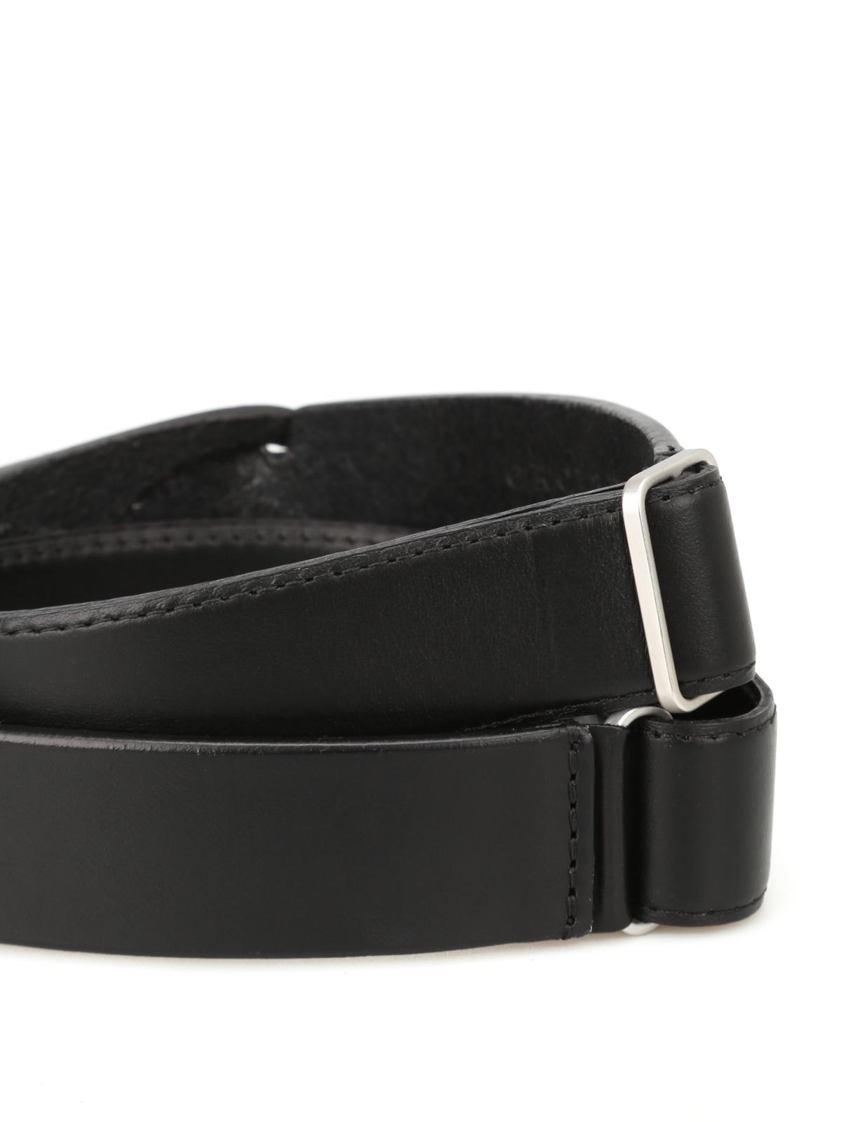 nuovo di zecca 515ec 8114a Orciani - Cintura in cuoio Bull senza fibbia - cinture ...