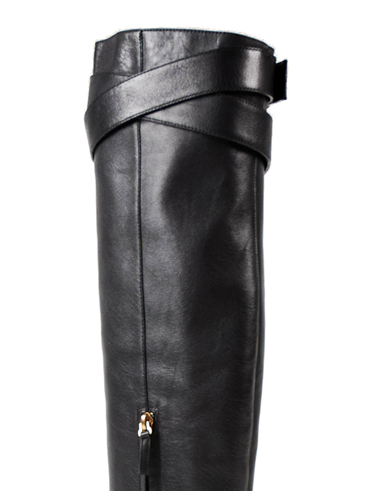 9b5577364ef Valentino Garavani - Over the knee leather boots - boots - WS0D46EGB0NO
