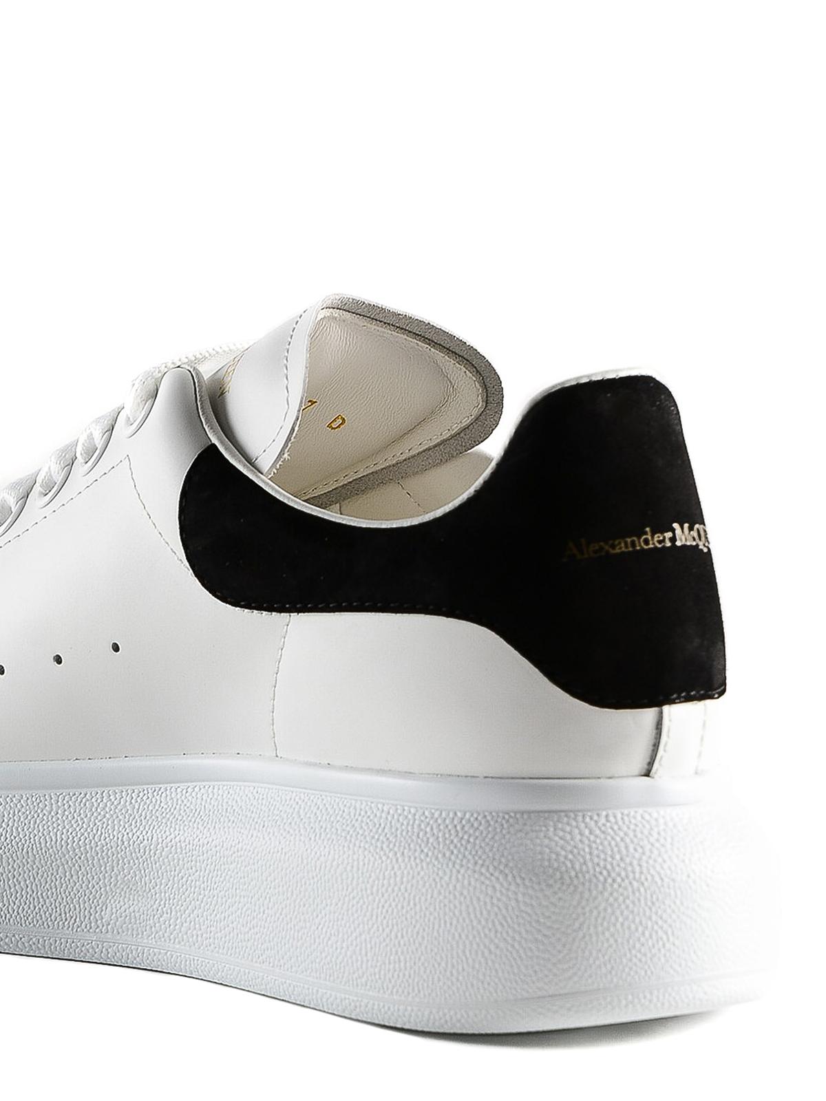 Alexander Mcqueen - Sneaker Oversize bianche e nere ...