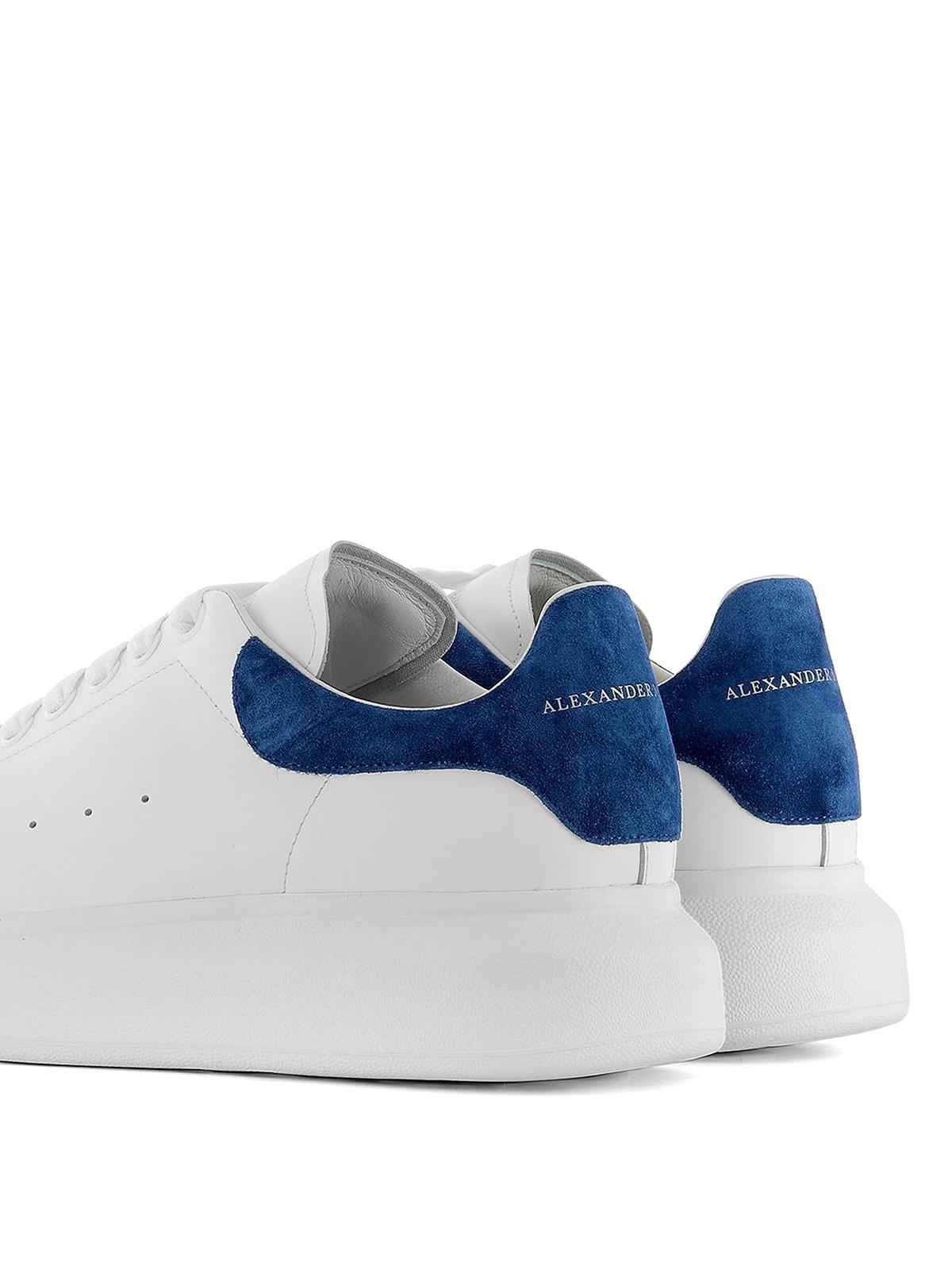 Alexander Mcqueen - Sneaker Oversize con tallone blu ...