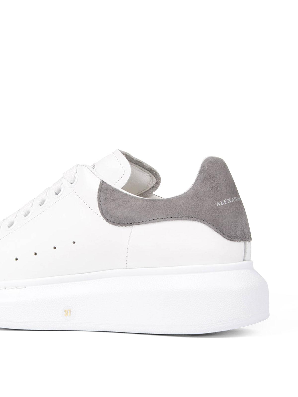 Alexander Mcqueen - Sneaker in pelle suola oversize ...