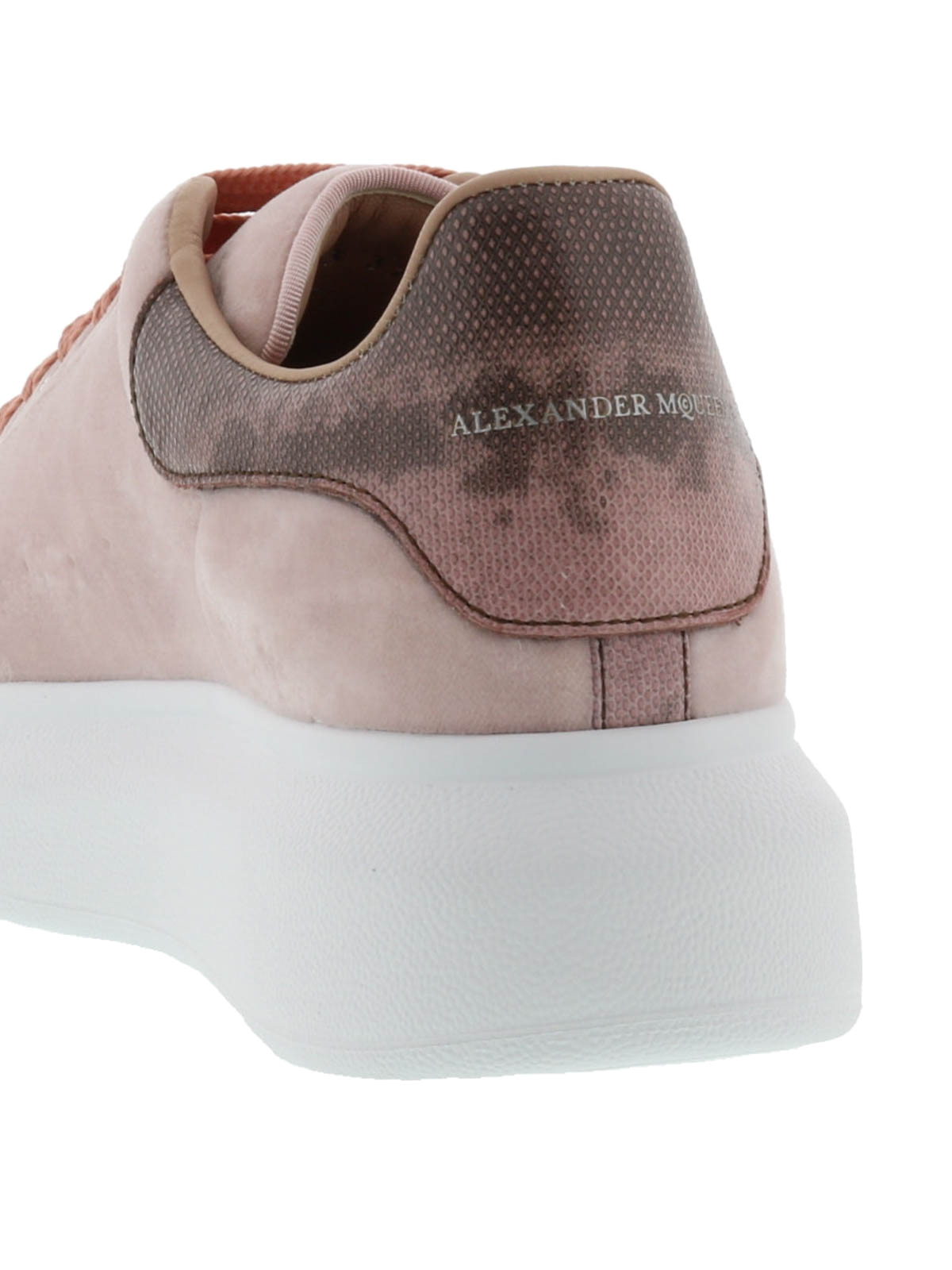 Alexander Mcqueen Baskets Rose Chaussures de sport