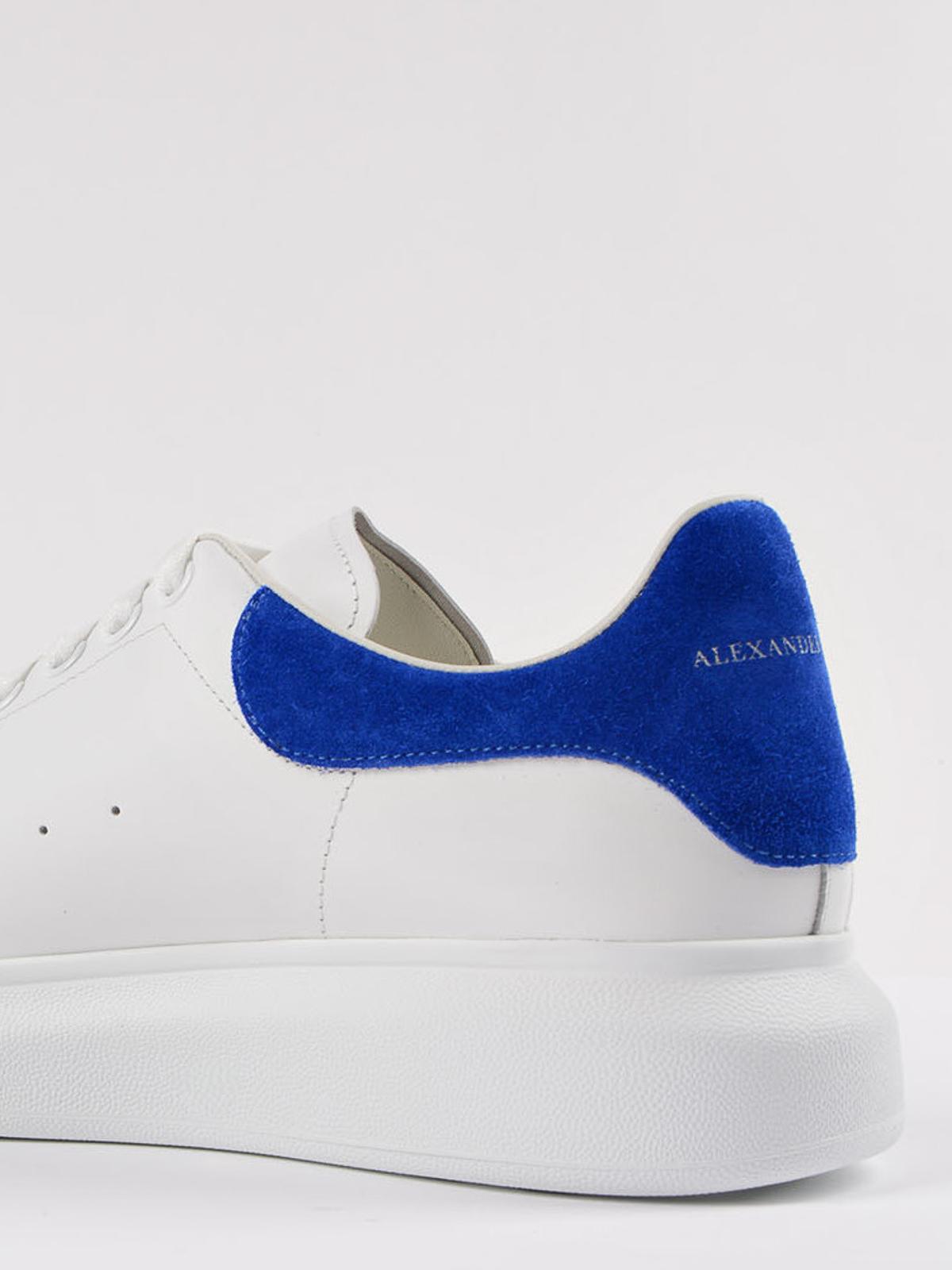 Alexander Mcqueen - Oversize suede heel sneakers - trainers ...