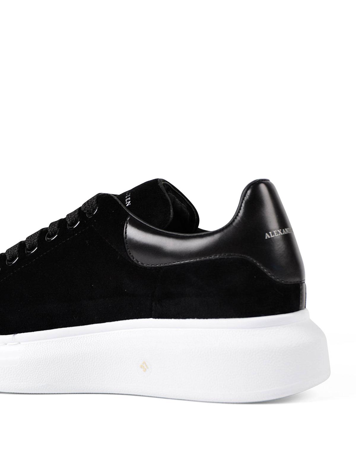 Alexander Mcqueen - Sneaker Oversize in velluto - sneakers ...
