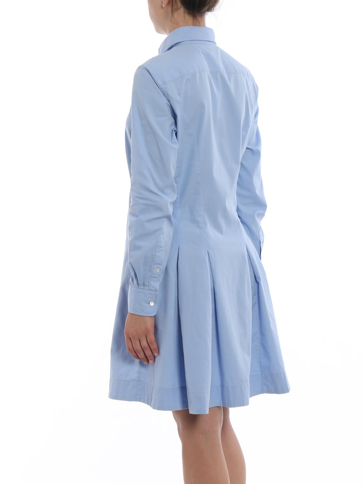 Polo Ralph Lauren - Oxford cotton shirt dress - short dresses ...