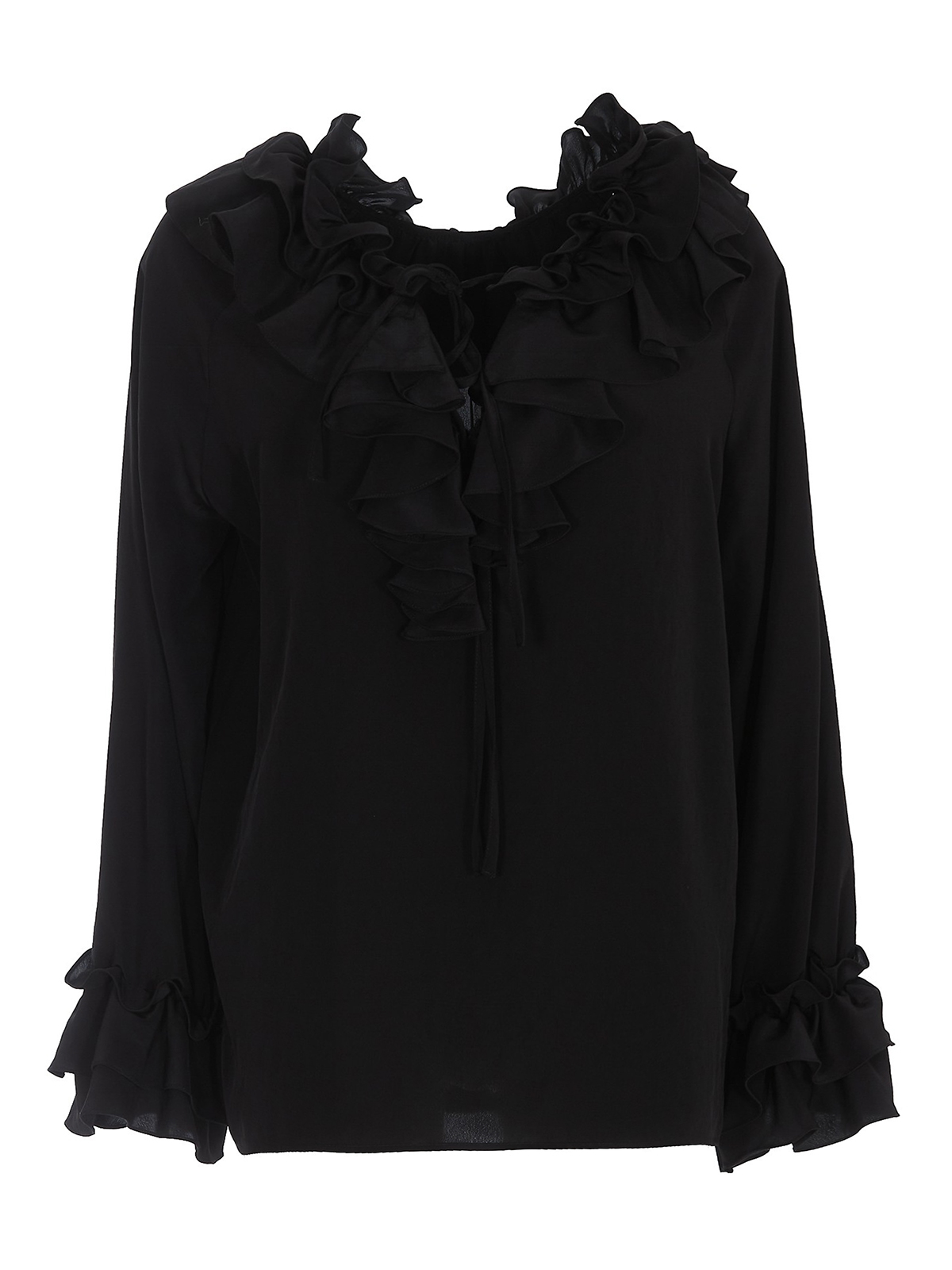 P.a.r.o.s.h. RUFFLE DETAILED BLOUSE
