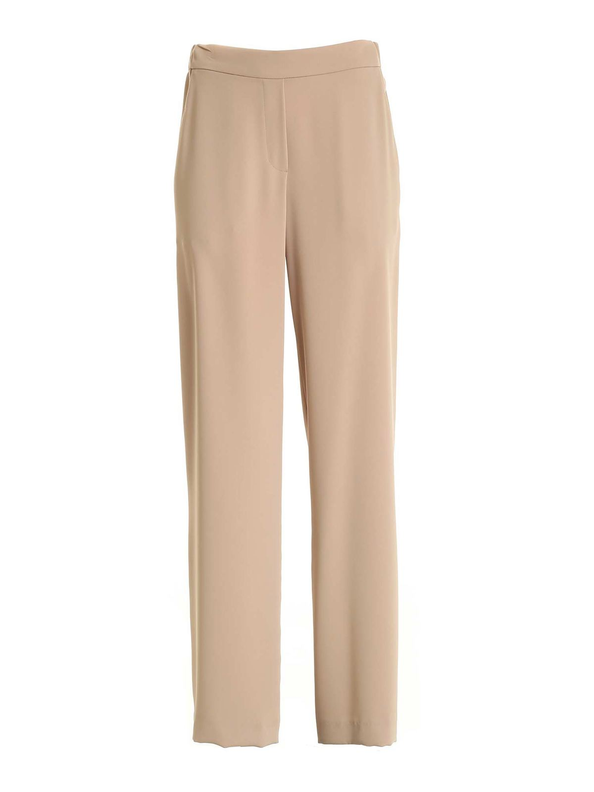 P.a.r.o.s.h. LOOSE FIT CADY PANTS IN BEIGE