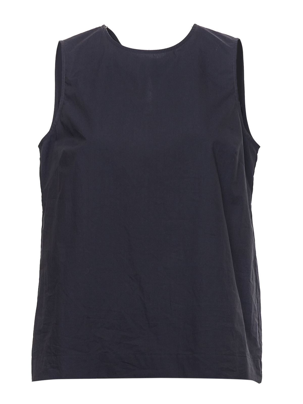 P.A.R.O.S.H. COTTON TOP IN BLUE