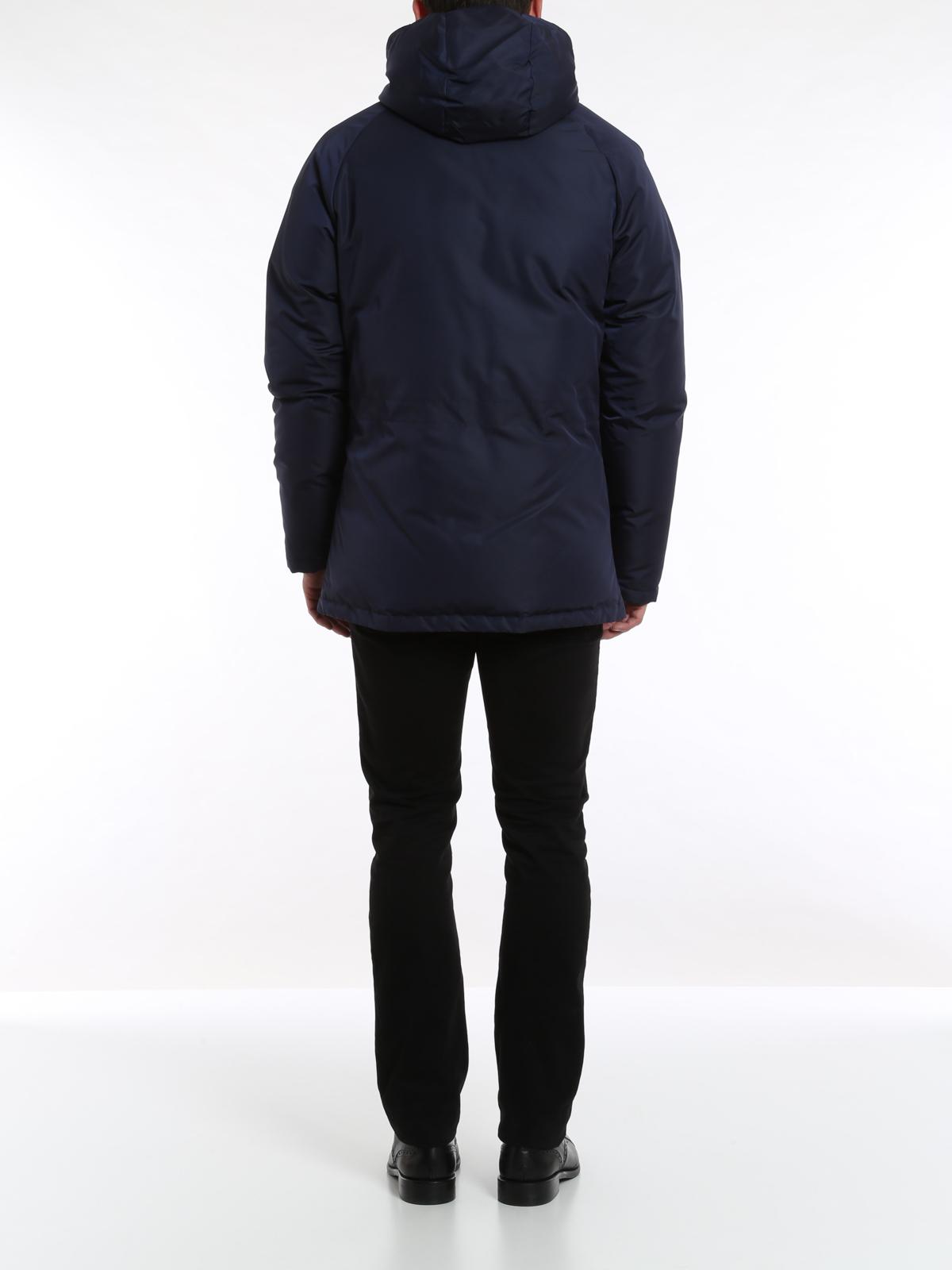 Vestes Pour Homme Bleu Blouson Versace Rembourré Collection w4vp6wxY