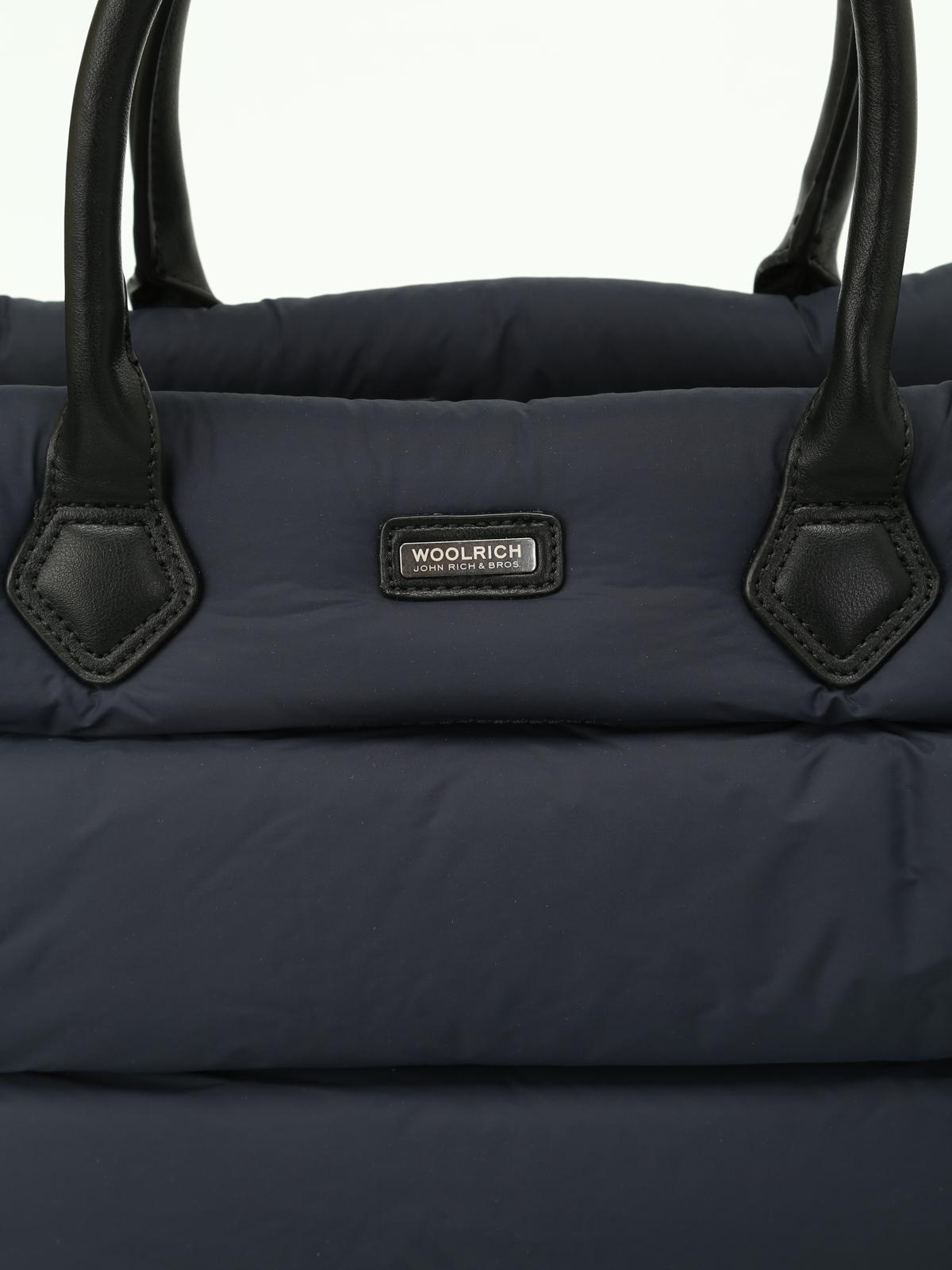 Woolrich - Borsa in nylon imbottito con zip - shopper - WWBAG0127 ... d4bb5b5458b