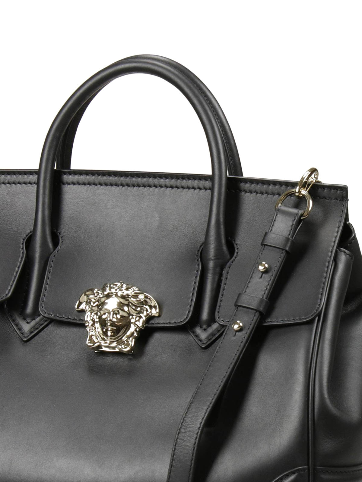 994ae41202 Versace - Palazzo Empire leather tote - totes bags - DBFF453 DSTVT