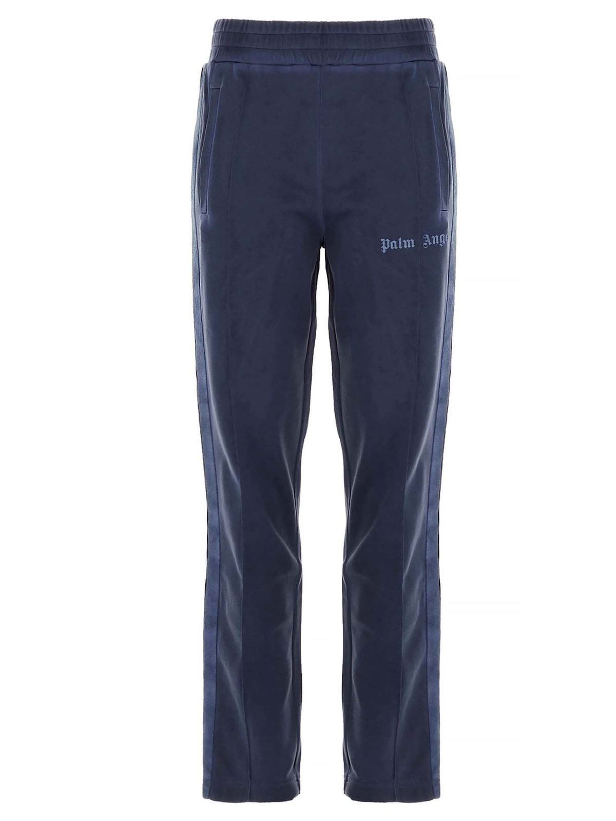 Palm Angels GARMENT DYED PANTS IN BLUE