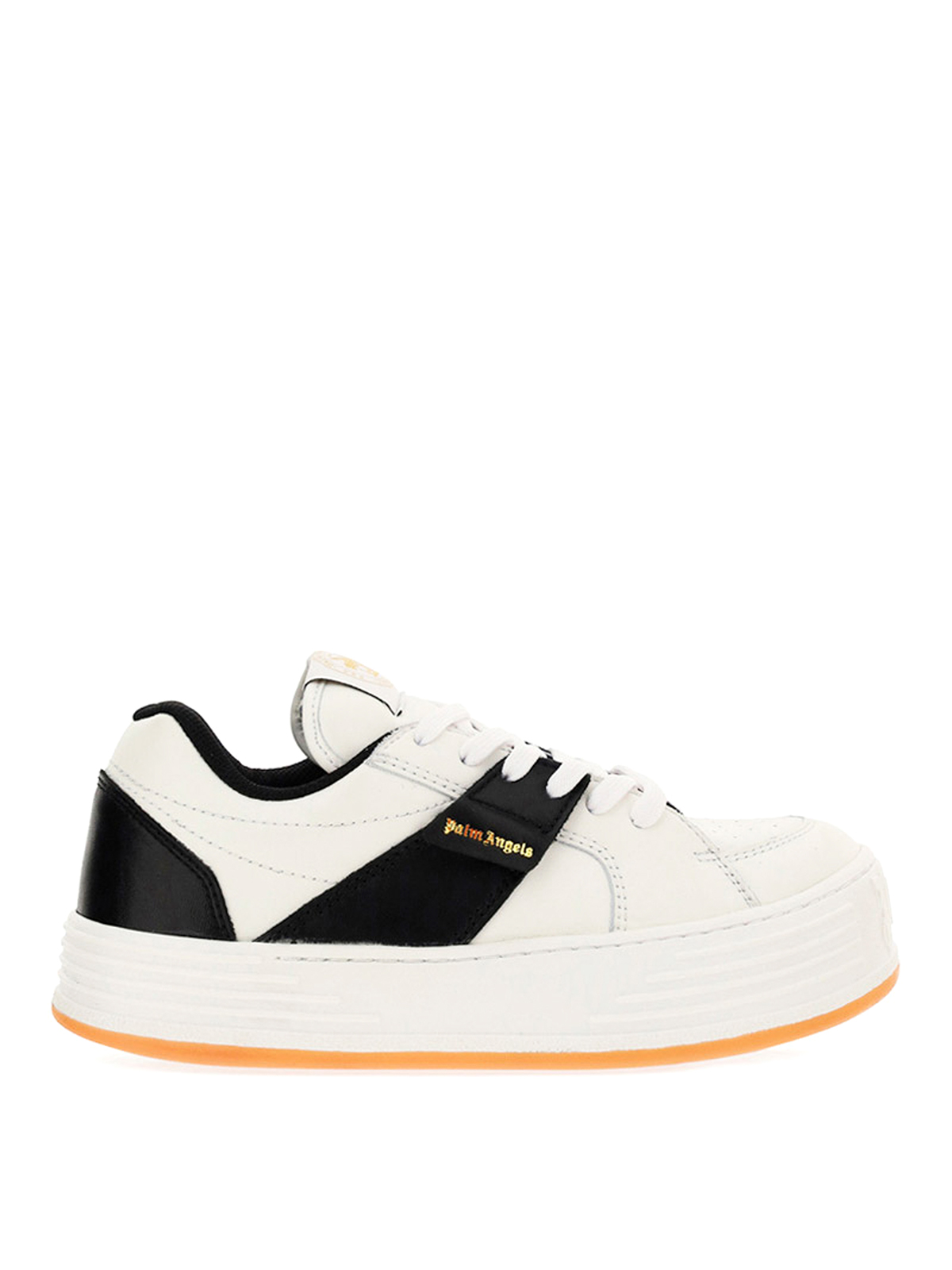 Palm Angels Suedes OVERSIZED SOLE CALFSKIN SNEAKERS
