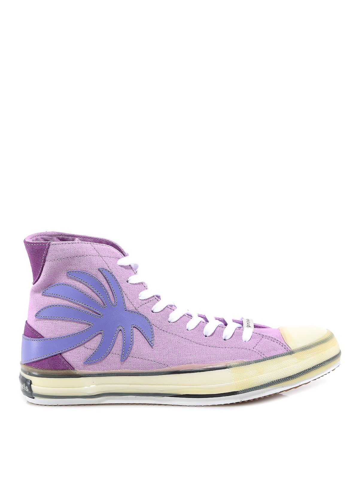 Palm Angels Canvases PALM PATCH CANVAS SNEAKERS