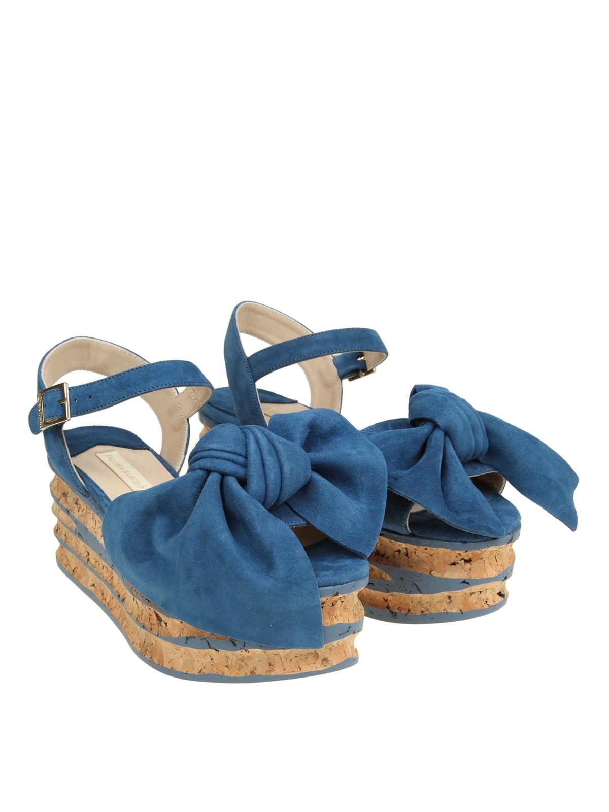 8410906b2e0 Paloma Barcelò  sandals online - Rosa maxi bow flatform sandals