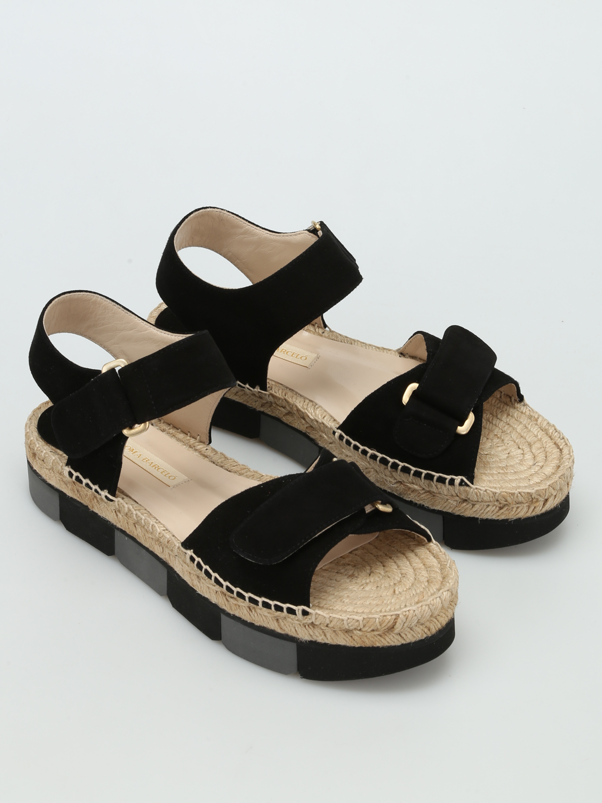Bersac Velcro Strap Sandals By Paloma Barcel 242 Sandals