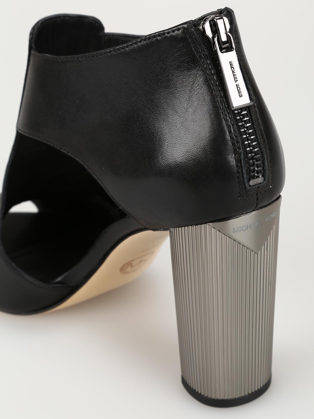 Michael Kors - Paloma black ankle boots