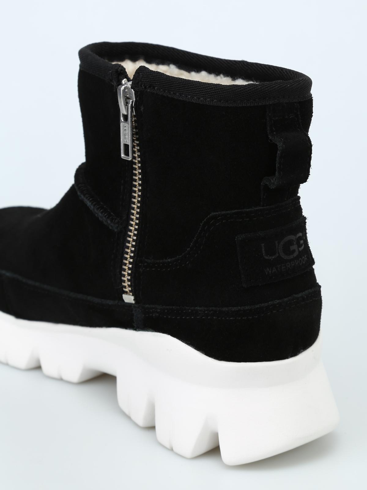 4b1f4001a52 Ugg - Palomar black waterproof suede booties - ankle boots - 1095541 ...