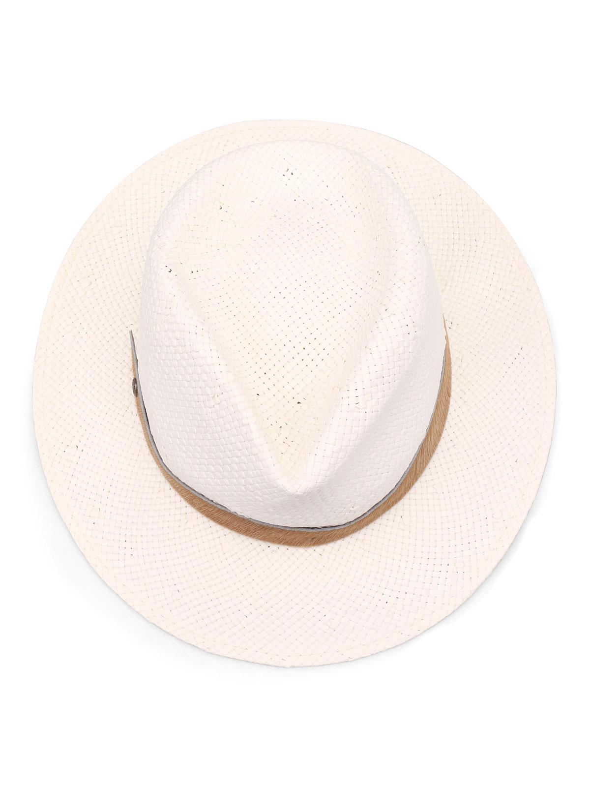 9a2f15f417a Jacob Cohen - Paper yarn panama hat - hats   caps - JH01300203BURRO103